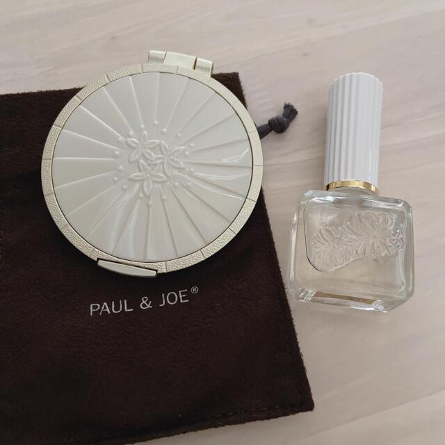 PAUL & JOE(ポールアンドジョー)のPaul & JOE 鏡  ネイルオイル セット コスメ/美容のネイル(ネイルケア)の商品写真