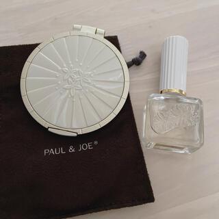 ポールアンドジョー(PAUL & JOE)のPaul & JOE 鏡  ネイルオイル セット(ネイルケア)