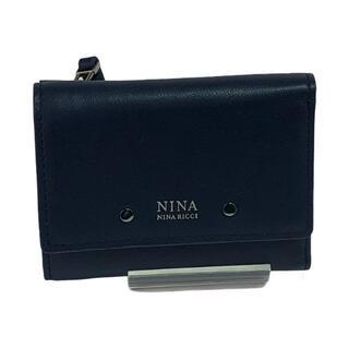 ニナリッチ(NINA RICCI)のNINA RICCI ニナリッチ 二つ折り 財布 1120c-a997(財布)