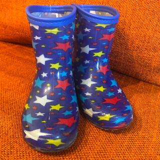 クロックス(crocs)の送料込み💐長靴 ブルー 18センチ🌺青 幼稚園 美品 青 男の子 (長靴/レインシューズ)