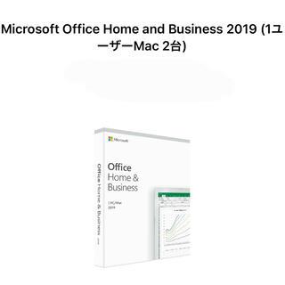 マイクロソフト(Microsoft)のOffice 2019 Home & Business for Mac 2PC(PC周辺機器)