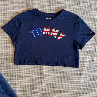 トミー(TOMMY)のTOMMY JEANS Tシャツ クロップド丈 (Tシャツ(半袖/袖なし))