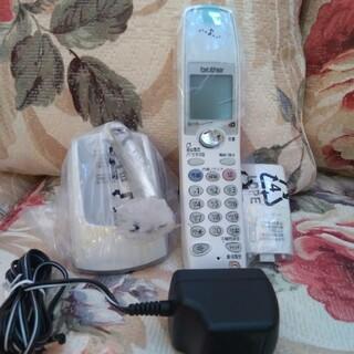 ブラザー(brother)の新品未使用 brother  電話機子機のみ(その他)
