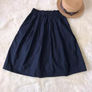 ムジルシリョウヒン(MUJI (無印良品))の良品計画 スカート(ひざ丈スカート)