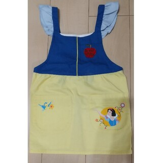 ディズニー(Disney)の白雪姫 エプロン 110cm ディズニー ワンピース(その他)