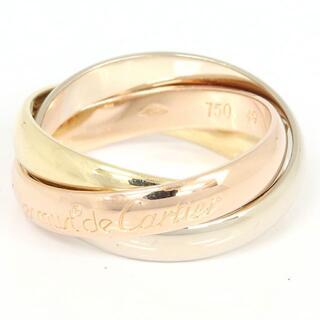 カルティエ(Cartier)の カルティエ リング トリニティ PG YG WG 9号(リング(指輪))