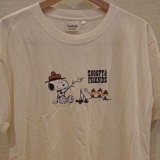 ピーナッツ(PEANUTS)のスヌーピー  Tシャツ【新品・タグ付き】LL(XL)size  ゆうパケッ発送♪(Tシャツ/カットソー(半袖/袖なし))