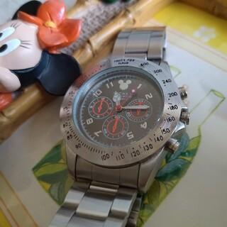 ディズニー(Disney)の【美品】ディズニー 腕時計 メンズ アナログ(腕時計(アナログ))