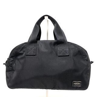 ポーター(PORTER)のポーター ハンドバッグ - 黒 ナイロン(ハンドバッグ)