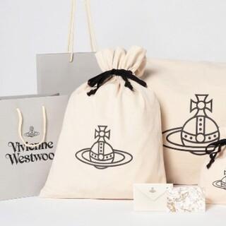 ヴィヴィアンウエストウッド(Vivienne Westwood)のギフト用巾着(アイボリー)(その他)