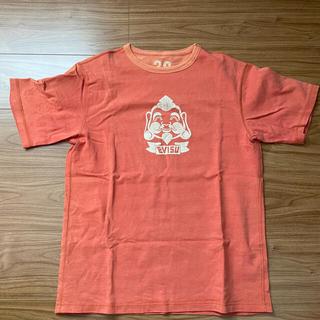 エビス(EVISU)のEVISU リバーシブルTシャツ オレンジ(Tシャツ/カットソー(半袖/袖なし))
