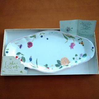ミカサ(MIKASA)のデザートプレート MIKASA 前田まゆみリトルガーデン ボーンチャイナ  (食器)