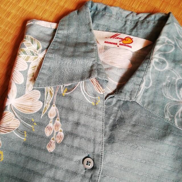 MANGO(マンゴ)のMangoかりゆしウェア サマーセール☺️ レディースのトップス(シャツ/ブラウス(半袖/袖なし))の商品写真