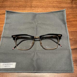 トムブラウン(THOM BROWNE)のトムブラウン メガネ 眼鏡 TB-711-A-BLK THOM BROWNE(サングラス/メガネ)