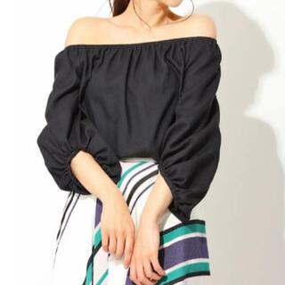 フレイアイディー(FRAY I.D)の麻混♡フレイアイディーセットアップ可能オフショル(Tシャツ(半袖/袖なし))