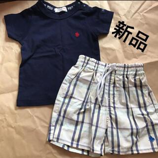 ポロラルフローレン(POLO RALPH LAUREN)のPOLOベビー Tシャツ パンツ セット(Tシャツ)