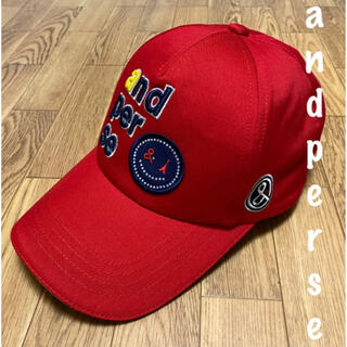 パーリーゲイツ(PEARLY GATES)の美品⛳️アンパスィ  キャップ 帽子 レディース ゴルフウェア(ウエア)
