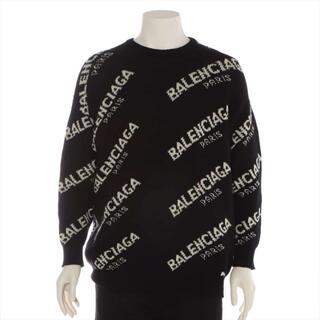 Balenciaga - バレンシアガ  ウール×キャメル 34 ブラック メンズ ニット