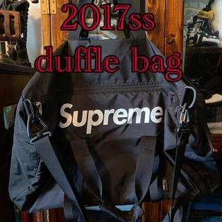 シュプリーム(Supreme)のシュプリーム supreme 2017ss duffle bag 正規品 美品(ボストンバッグ)