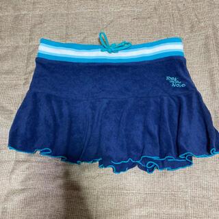【水着の上に♪】タオル地 ミニスカート(ミニスカート)