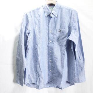 クロコダイル(Crocodile)のCROCODILE 長袖シャツ メンズ ブルー(シャツ)