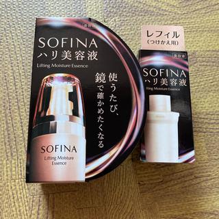 ソフィーナ(SOFINA)のソフィーナ モイストリフト美容液 40g ハリ美容液 本体&レフィル セット(美容液)