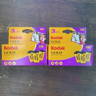 Kodak GOLD 24枚撮り 6本セット(フィルムカメラ)