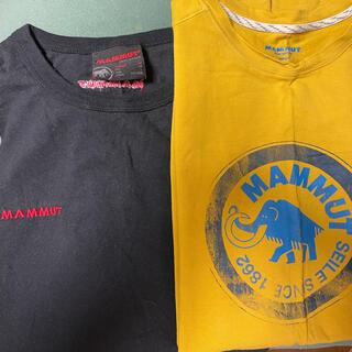 マムート(Mammut)のmammut Tシャツ4枚セット(Tシャツ/カットソー(半袖/袖なし))