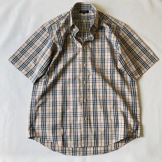 バーバリー(BURBERRY)のバーバリー ノバチェック シャツ 半袖 (シャツ)