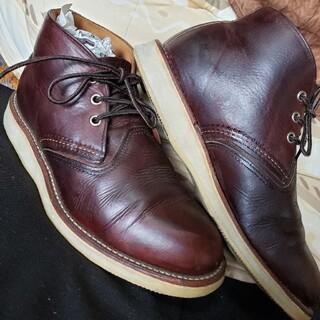 レッドウィング(REDWING)のREDWING レッドウイング 3141 チャッカ ブーツ CHUKKA 皮革(ドレス/ビジネス)