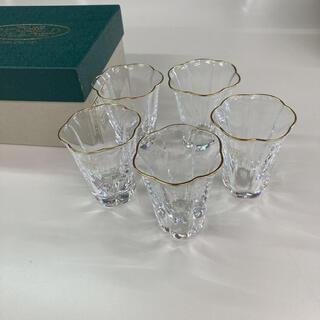 タチキチ(たち吉)のRICHFIELD お花形ミニグラス5個セット(グラス/カップ)