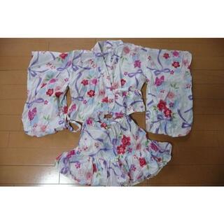 女の子 100センチ 浴衣 ワールド製(甚平/浴衣)
