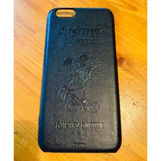 ミッキーマウス(ミッキーマウス)のiPhoneケース iPhone6/6s  ミッキー 本革仕様(iPhoneケース)
