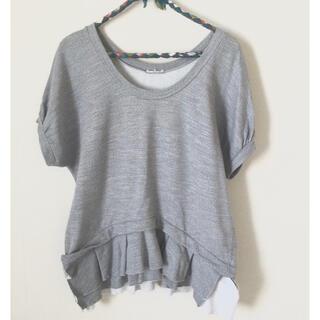 ミュウミュウ(miumiu)のmiumiu 半袖スウェット(Tシャツ(半袖/袖なし))