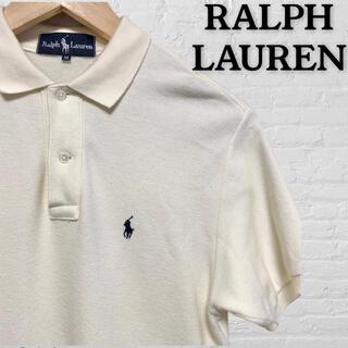 Ralph Lauren - 43. RALPH LAUREN ポロシャツ ホワイト