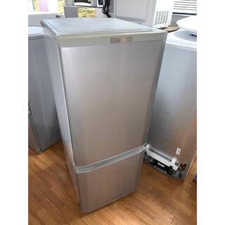 ミツビシ(三菱)の(洗浄・検査済み)三菱 冷蔵庫 146L 2017年製(冷蔵庫)