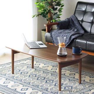 センターテーブル ブラウン色 ちゃぶ台/ローテーブル/木製テーブル/89(ローテーブル)