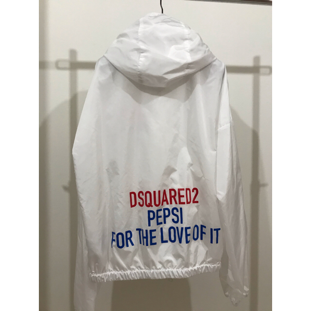 [新品]Dsquared2 X Pepsi Windbreaker Sサイズ メンズのジャケット/アウター(ナイロンジャケット)の商品写真