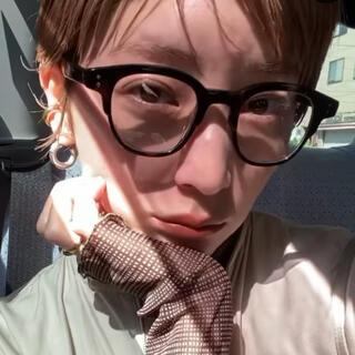 トゥデイフル(TODAYFUL)の吉田玲香 レイチェル Zoff コラボメガネ ウェリントン(サングラス/メガネ)