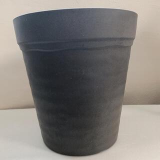 新品 日本製 プランター 丸 ダークブラウン 大型 観葉植物 寄植え 濃茶(プランター)