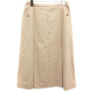 クリスチャンディオール(Christian Dior)のクリスチャンディオール ヴィンテージ スカート ロング フレア L ベージュ(ロングスカート)