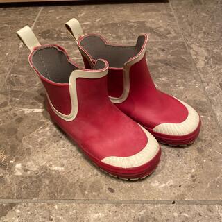 ムジルシリョウヒン(MUJI (無印良品))のMUJI  無印 レインシューズ 18-19cm(長靴/レインシューズ)