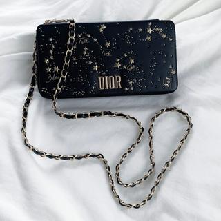 クリスチャンディオール(Christian Dior)のDior クリスチャンディオール  スタッズ ショルダーバッグ(ショルダーバッグ)