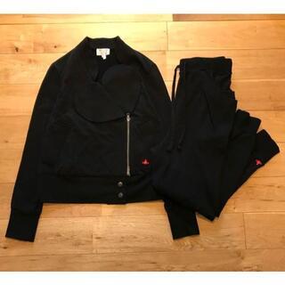 ヴィヴィアンウエストウッド(Vivienne Westwood)の美品 ヴィヴィアンウエストウッド ハート襟 スウェット ライダース パンツ 2(その他)
