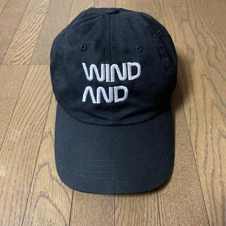 シー(SEA)のウィンダンシー WINDANDSEA キャップ 黒(キャップ)