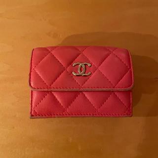シャネル(CHANEL)のシャネル 三つ折り財布(折り財布)