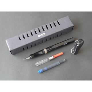 ラミー(LAMY)の新品 ラミー サファリ ブラック ニブM +コンバーターLZ28 #L19BKM(ペン/マーカー)
