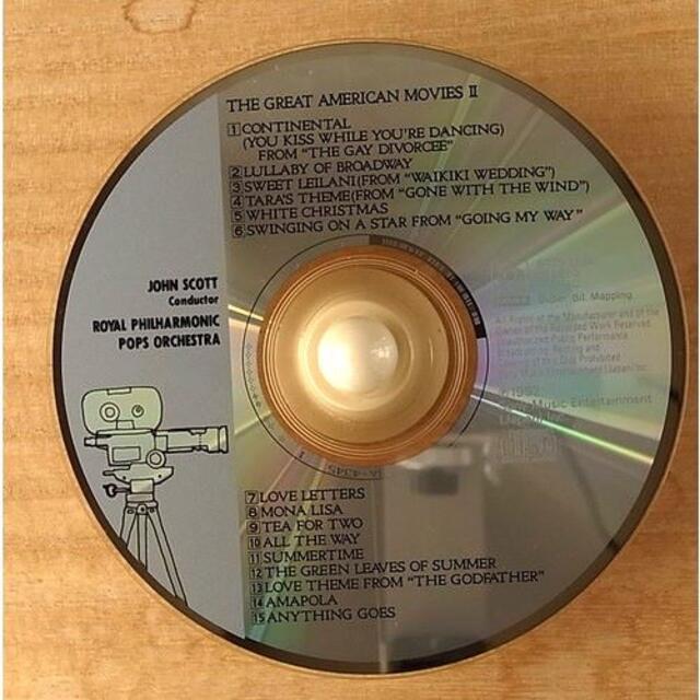 アメリカ映画スタンダードII   エンタメ/ホビーのCD(映画音楽)の商品写真