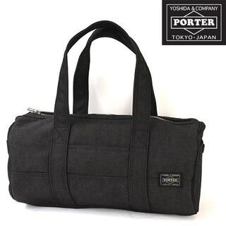 ポーター(PORTER)の★人気 PORTER スモーキーミニボストンバッグ ポーター ハンドバッグ 黒(ハンドバッグ)