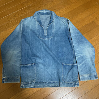 WAREHOUSE - ウエアハウス デニムプルオーバージャケット USN サイズ42 リアルマッコイズ
